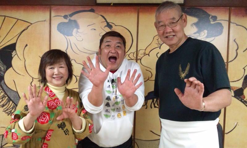 相撲料理・ちゃんこ鍋 大鷲 » Blog Archive » ゆうがたGet !